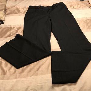 Express black wide leg pants